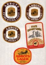 Unusual  Old beer bottle labels Australia selection    #038
